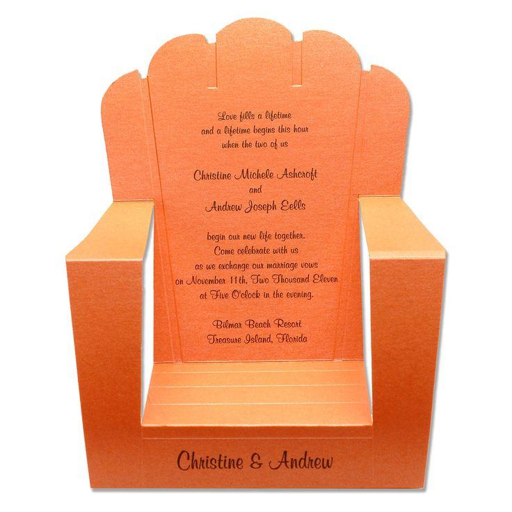 beach wedding invitations samples