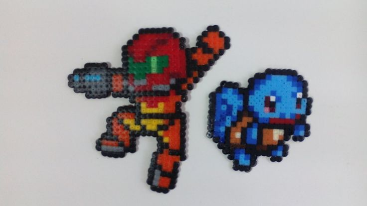hama -  samus   squirtle by karmatrix - comission available