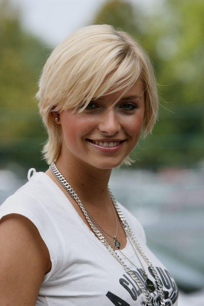 Frisuren Frauen Kurz Blond Pinterest Blonde Frauen Frauen