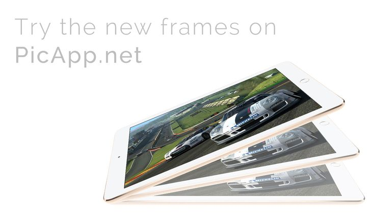 We added new frames for you on Picapp.net. Now you can to showcase your new iOS app on the latest device frames. Try it now and impress your customers. It's free to download your final image in PC! #picapp #ipad #mockup