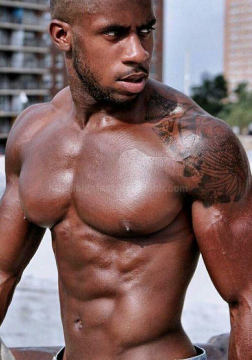 Sexy black straight men