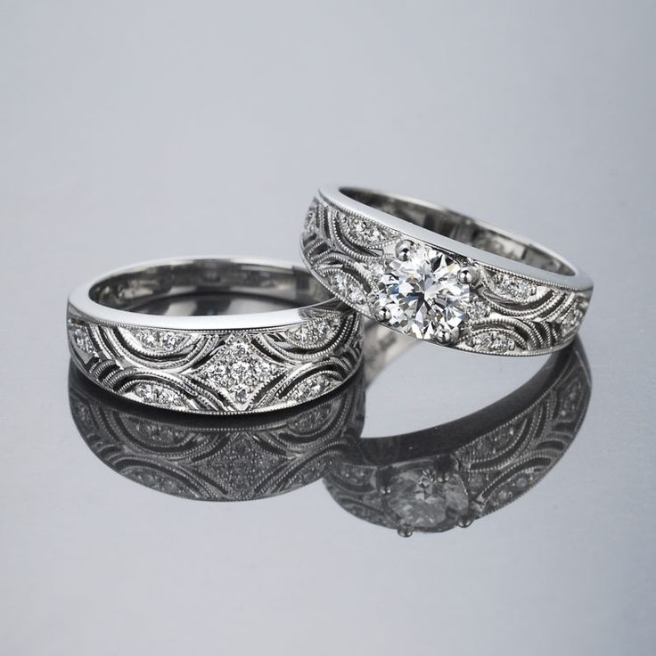 Austrian Lace Diamond Ring.