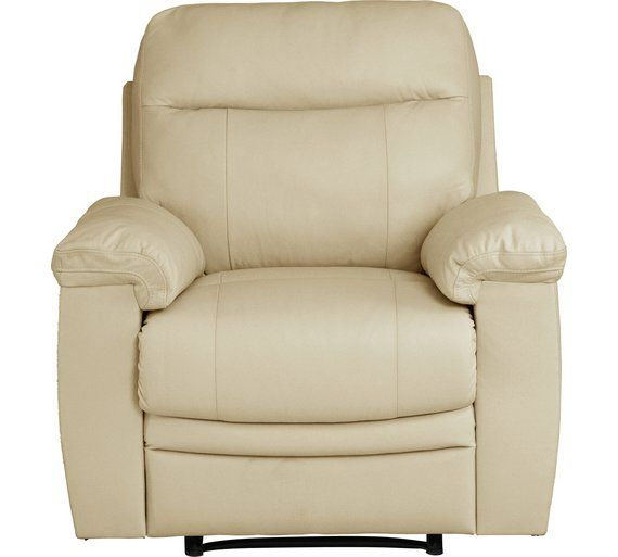 Chairs Argos Manual Recliner Chair, Armchair With Footrest Argos