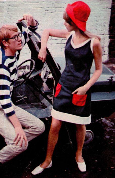 Pattie Boyd for Seventeen magazine, 1966.
