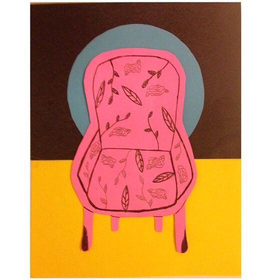 Collage Sillon Maria blanda