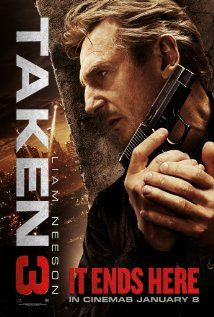 Taken 3 (2014)...Ex-government operative Bryan Mills is accused of a ruthless murder he never committed or witnessed. As he is tracked and pursued, Mills brings out his particular set of skills to find the true killer and clear his name.