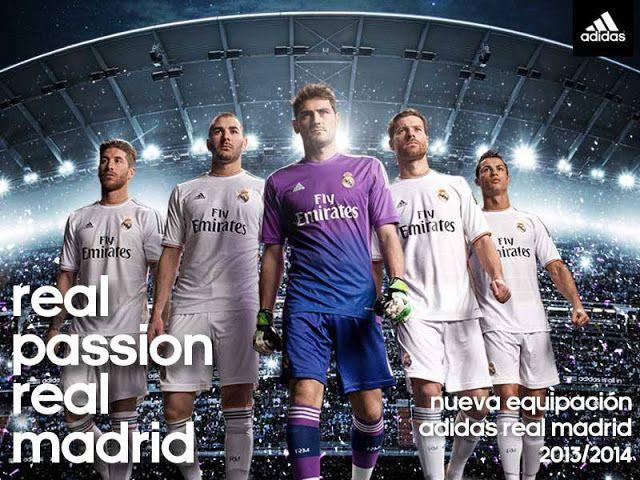 Nouveaux maillots Real Madrid 2014 ( Photos et vidéo )   Fraîches ...
