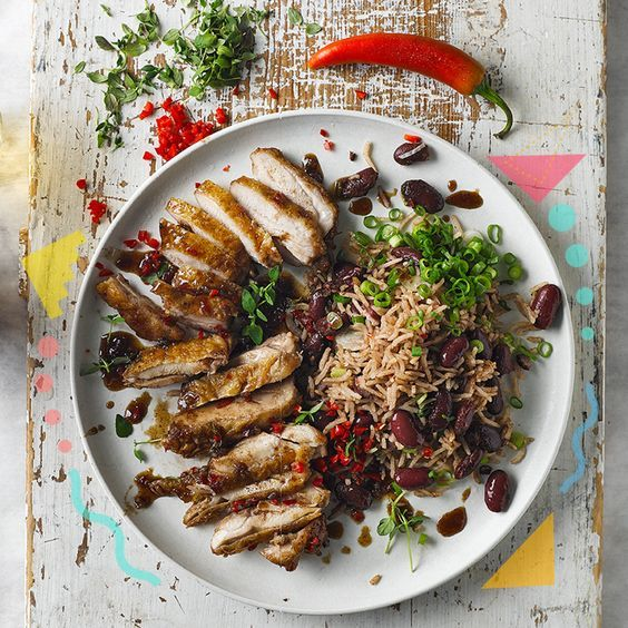 A quick and easy Street Party Jerk Chicken, Rice & Peas recipe, from our authentic Jamaican cuisine collection. Find brilliant recipe ideas and cooking tips at Gousto