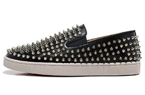 Sheepskin Men Spike Low Sneakers, Silver US 11 KOKOSHELL https://www.amazon.com/dp/B06XZV2CX3/ref=cm_sw_r_pi_dp_x_oBggzbHKCAKMQ