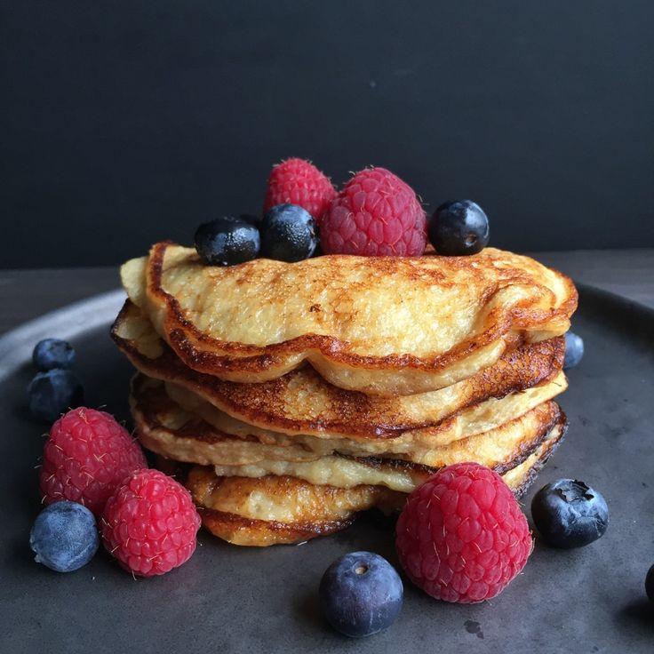 Healthy Banana Pancakes Recipe by mokalocks on #kitchenbowl