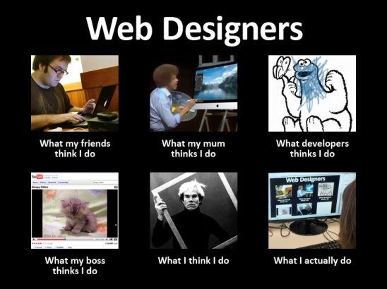 Meme of day #webdesigners #funny