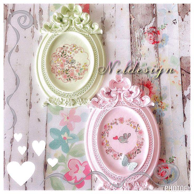 Scented clay frame