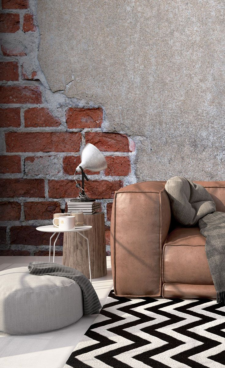 Brick and Render Wall Mural - The 25+ Best Brick Wallpaper Ideas On Pinterest Walls, Brick