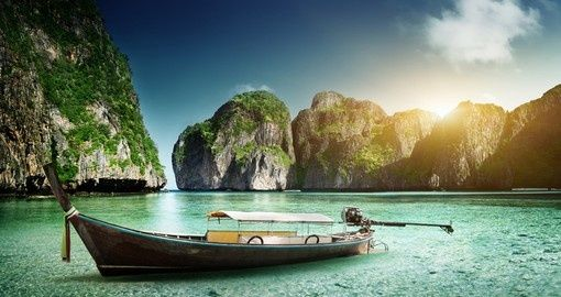 Six islands known as Phi Phi, Thailand | Christmas Escapes