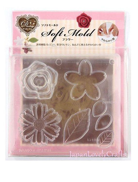 Japanese UV Resin & Clay Soft Mold Padico by JapanLovelyCrafts
