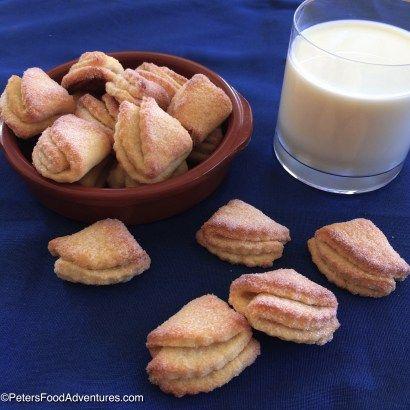 """Goose's Feet Cookies"" (Гусиные Лапки) - Farmer's Cheese Cookies - PetersFoodAdventures"