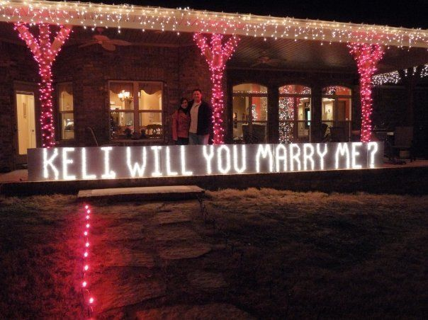 A Christmas Marriage Proposal Brilliant Event Planning