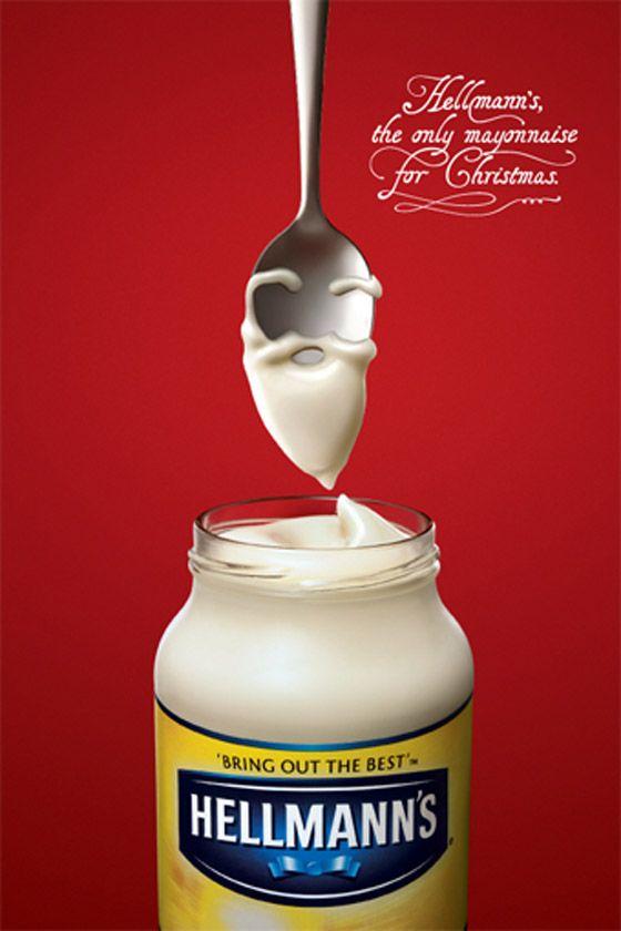 Hellmann's usó todo su ingenio para estar presente con este anuncio navideño
