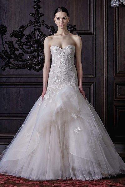 Marcoux Wedding Gown By Monique Lhuillier