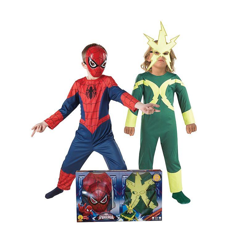 Pack #SpiderMan + #Electro. #Disfarce para crianças.