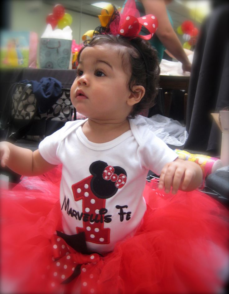 48 best minnie mouse first birthday party images on pinterest for Baby minnie decoration