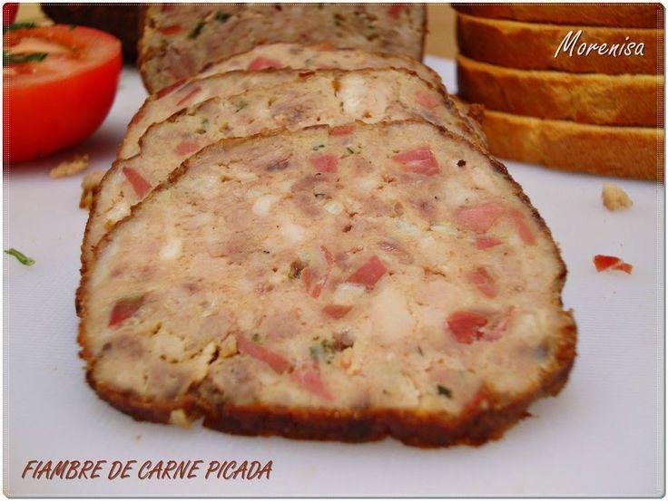LA COCINA DE MORENISA: Fiambre de Carne Picada