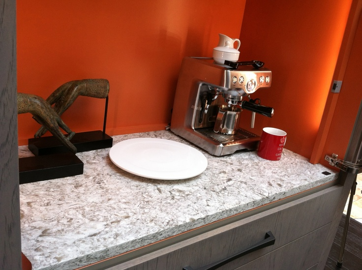 New Quay Coffee Cupboard Countertop At 2013 Luxury Of Living By Atlanta  Kitchen