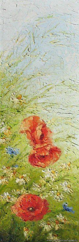 Rumianki, maki...i wiatr | Jadwiga Barteczko