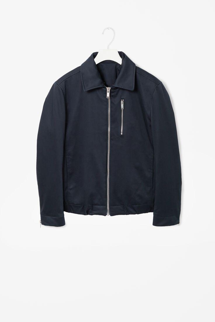 Cotton flight jacket