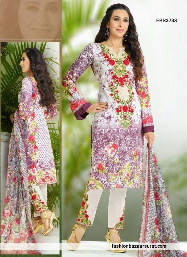 Beautiful Karishma Kapoor Multicolor Designer Salwar Suit