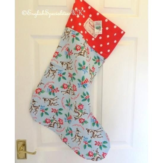 Cath Kidston】Christmas Stocking Deer キャスキッドソン ディア クリスマス ストッキング