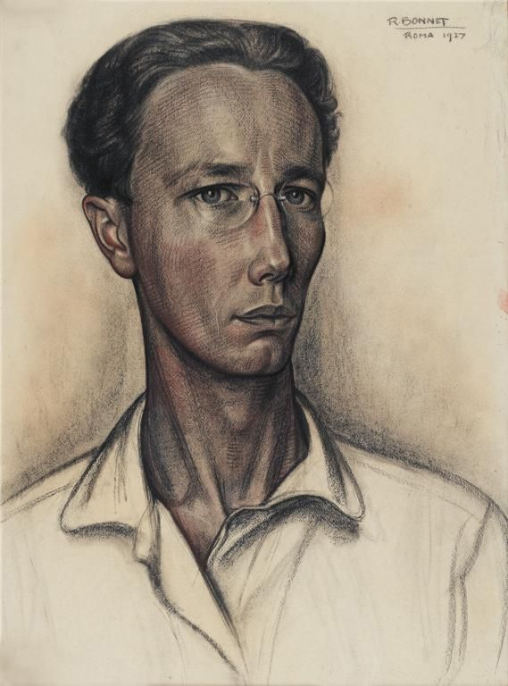 Things of beauty I like to see  Rudolf Bonnet (1895-1987) - Self portrait, 1927…