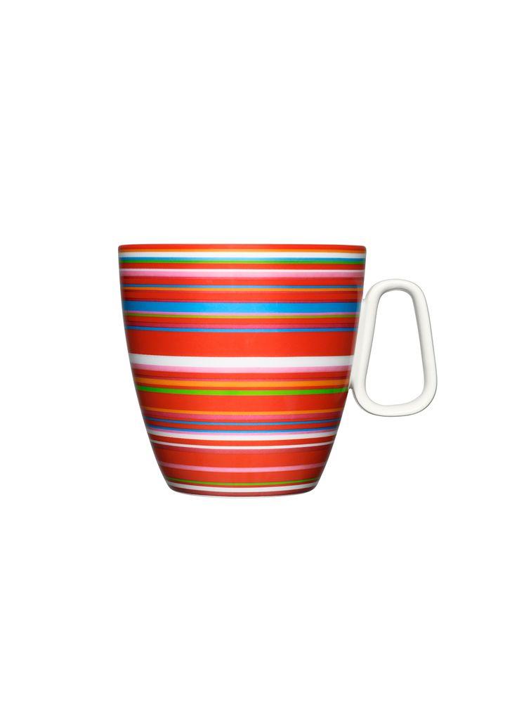Origo Mug 0,4 l red Alfredo Häberli