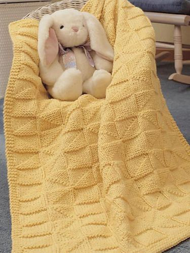 Ravelry Soft As A Cloud Baby Afghan Pattern By Laura