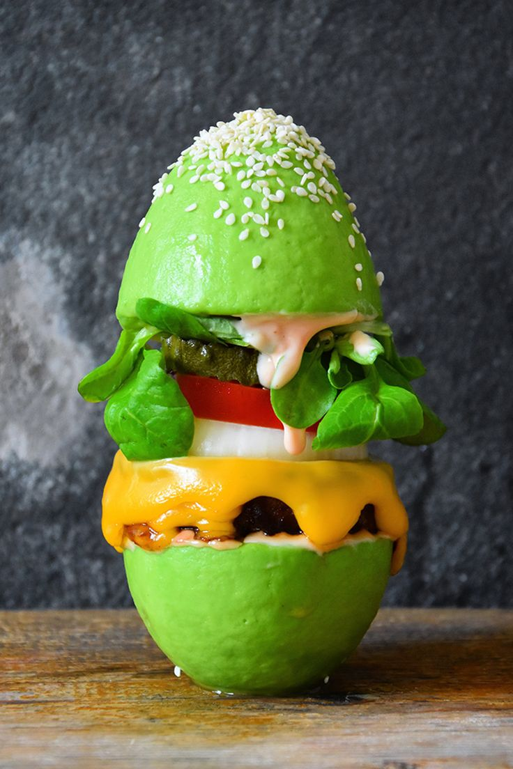 The Avocado Hamburger Bun Is the Latest Food Trend