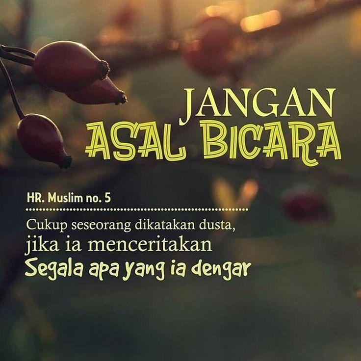 Jaga lisan kita sebelum lisan kita mencelakakan kita. . Jaga lisan kita agar hidup semakin berkah. . Jaga lisan kita untuk selamat hidup dunia akhirat. . Follow @IndonesiaBertauhid Follow @IndonesiaBertauhid Follow @IndonesiaBertauhid . By @hidupberkah.id . #tausiyah #dakwahsosmed #dakwahtauhid #tauhid #taatsyariah #hidupberkah #islamrahmatanlilalamin http://ift.tt/2f12zSN