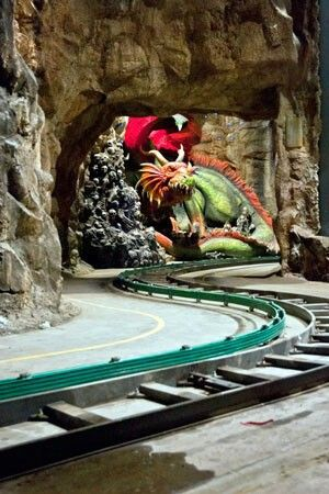 Huntik 5D Darkride at Rainbow Magicland Themepark Italy