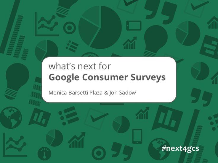 What's Next For Google Consumer Surveys
