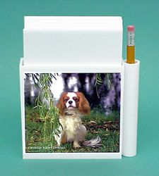Cavalier King Charles Spaniel Hold-a-Note $12.00