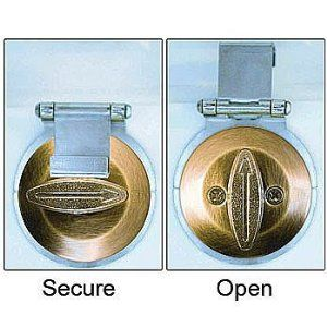Dead Bolt Secure In Brass - Prevent Unauthorized Access to Your Home by ANGEL GUARD PRODUCTS INC. $9.98. Secure your deadbolt! Dead Bolt Secure prevents unauthorized access to your house. Knob cannot be turned from the outside with bump keys, lock picking tools or even a stolen, working key. Installs easily without removing your current lock.  Works on most deadbolts. Solid steel.