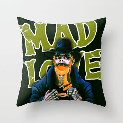 Dr. Gogol's Mad Love Pillow $20
