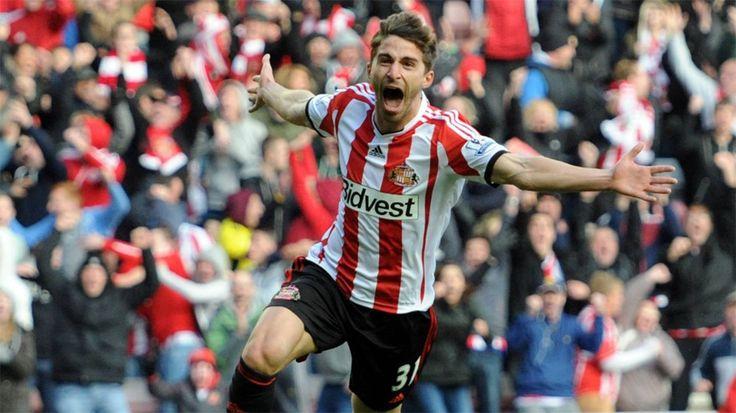 Fabio Borini - SAFC - Sunderland 2 Newcastle 1