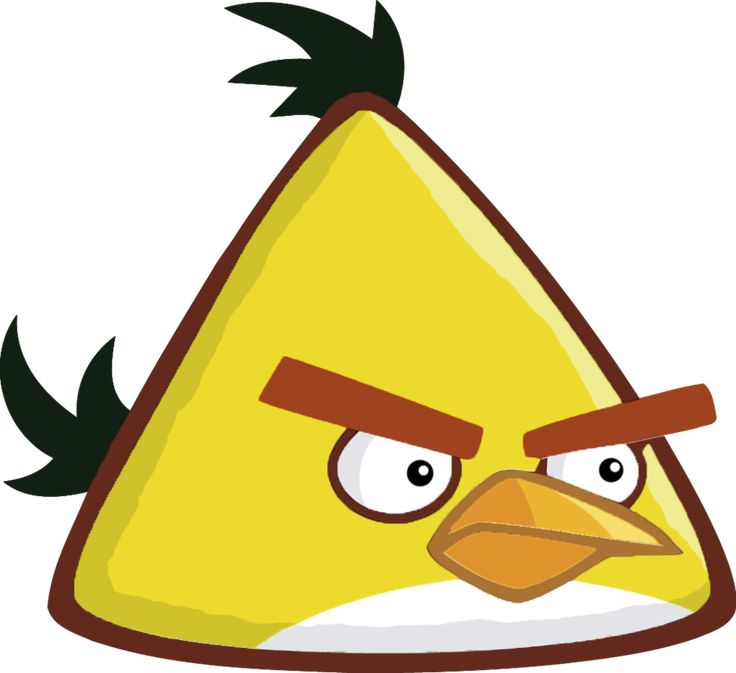 Angry Birds Remastered - CHUCK by Alex-Bird.deviantart.com on @DeviantArt