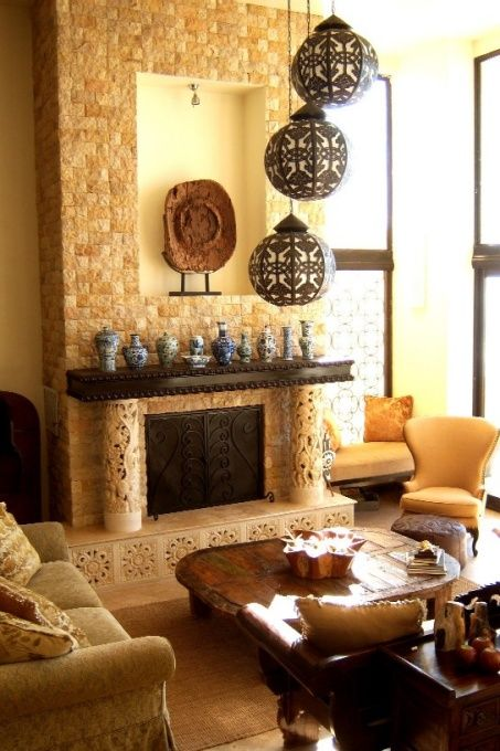 Balinese luxurious living room [ MexicanConnexionForTile.com ] #interior #Talavera #handmade. Old World DecoratingDecorating IdeasDecor ... & 39 best Balinese Interiors images on Pinterest | Balinese decor ...