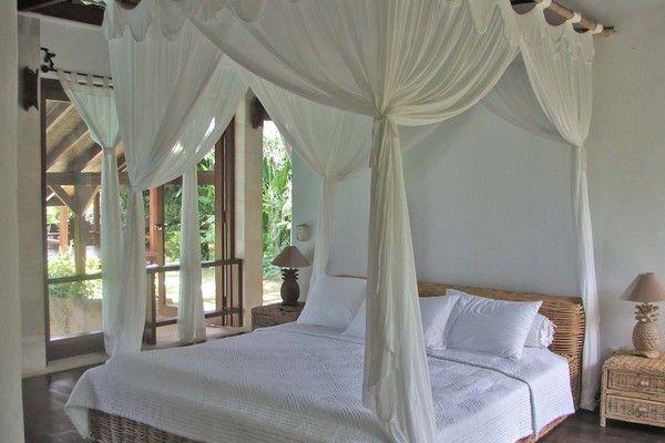 Furnished Bali Style Bed of Hillside Villa in Balangan Jimbaran bali