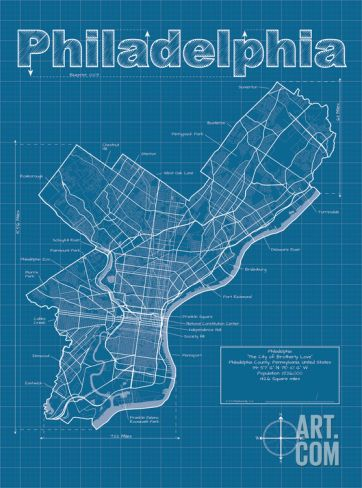 96 best graphic city maps images on pinterest city maps art philadelphia artistic blueprint map art print by christopher estes save up to 40 for malvernweather Image collections