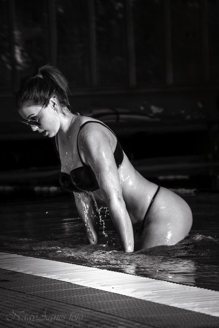 wet portrait