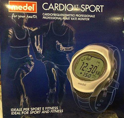 Ideale per tenere sotto controllo i propri parametri durante lo sport o il fitness..