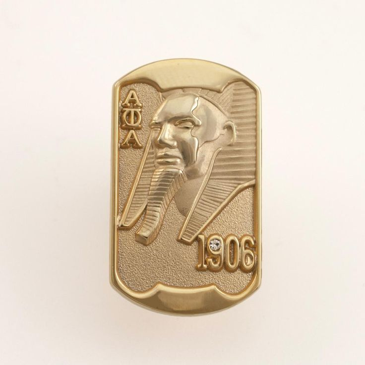 Alpha Phi Alpha Sphinx Lapel Pin, Alpha Phi Alpha Collection