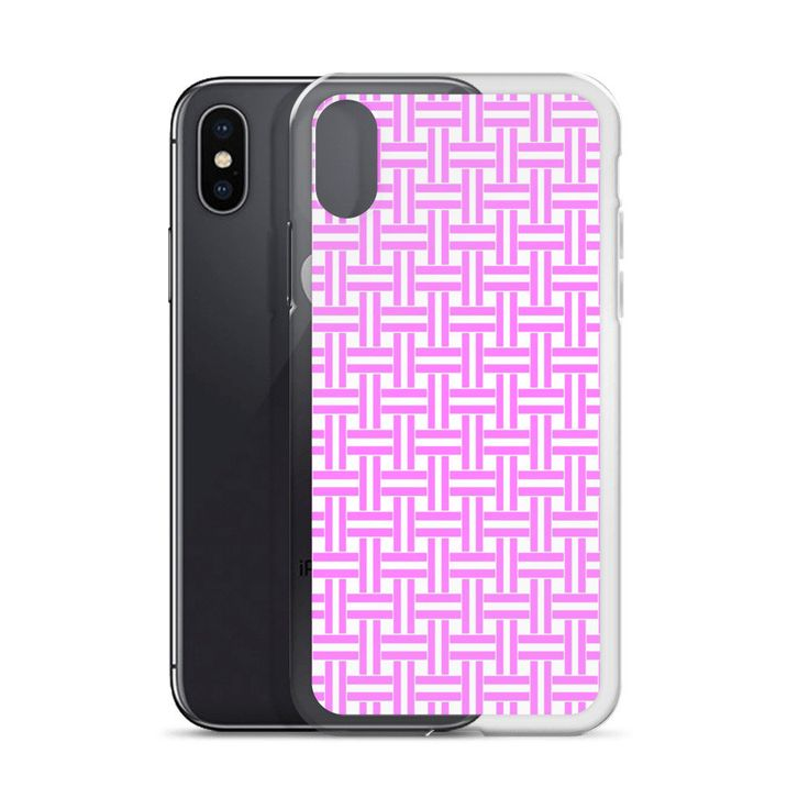 Excited to share the latest addition to my #etsy shop: Pink Lines Maze iPhone X Case   Repetitive Pattern iPhone case   Colorful iPhone 6 case   Trendy iPhone 7 case   Geometry iPhone 8 case  TPU http://etsy.me/2CCULNS #accessories #case #cellphone #iphonexcase #repeti
